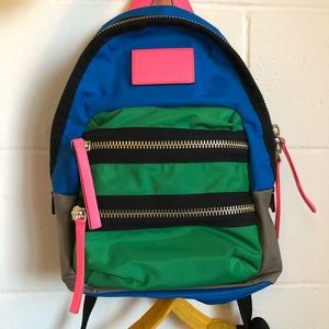 Marc by Marc Jacobs multi color mini backpack